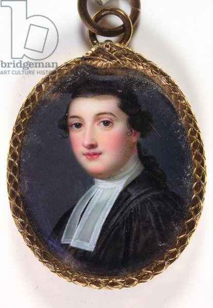 William Henry Cavendish Bentinck (enamel)