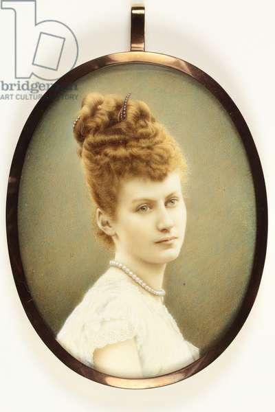 Lady Algernon Gordon Lennox (enamel) (see also 3076365)