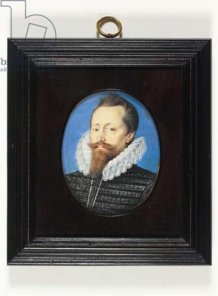 A Gentleman, perhaps Edward Cecil, Viscount Wimbledon (w/c on vellum)