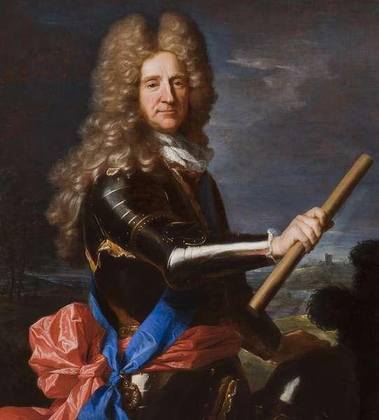 Detail of portrait of Hans Willem Bentinck, 1st Earl of Portland, 1699 (oil on canvas)