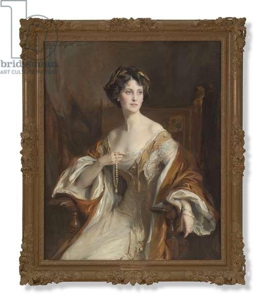 Portrait of Winifred Cavendish-Bentinck, Duchess of Portland, 1912 (oil on canvas)