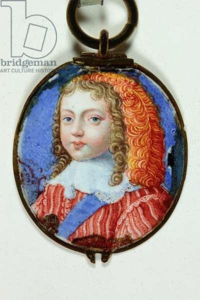 Louis XIV as a child (enamel)