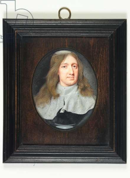 Sir Thomas Tomkyns, 1661 (w/c on vellum)