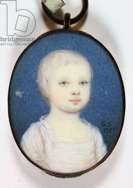 Lady Dorothy Cavendish, 1751 (enamel)