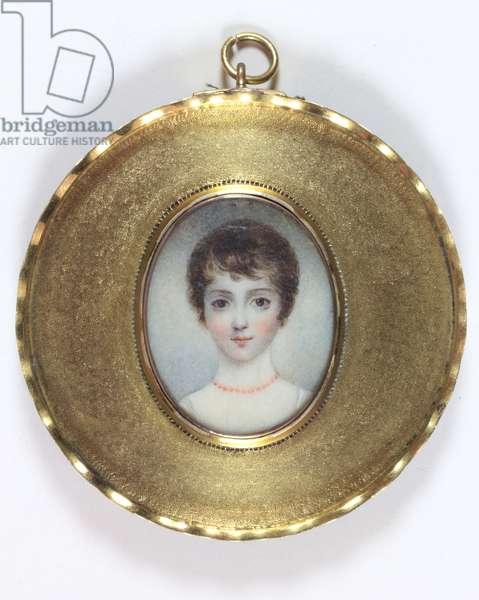Georgiana Augusta Frederica Seymour (enamel)