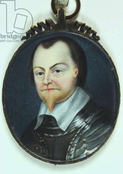 Robert Pierrepont, 1st Earl of Kingston (w/c on ivory)
