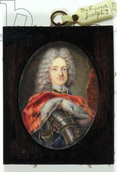 Emperor Joseph I (enamel)