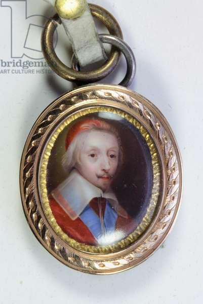 Armand-Jean Du Plessis, Cardinal, Duc De Richelieu (enamel)