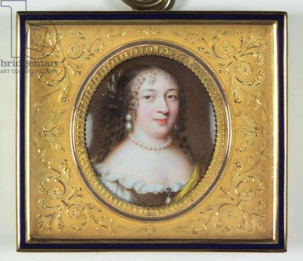 A lady called Madame de Louvois (enamel)