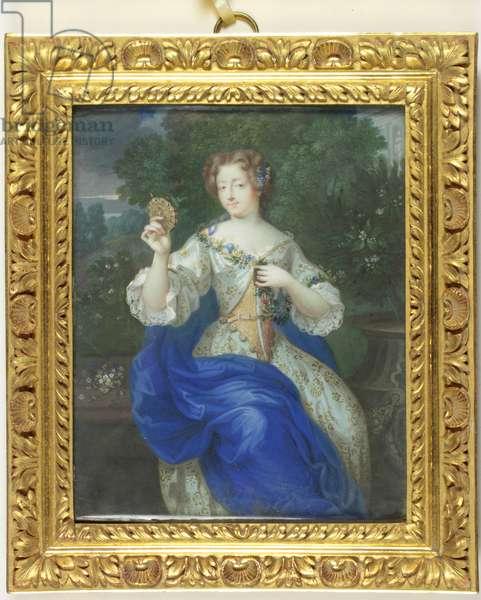 Marie-Angelique Scoraille de Rousille, Duchesse de Fontanges (enamel)