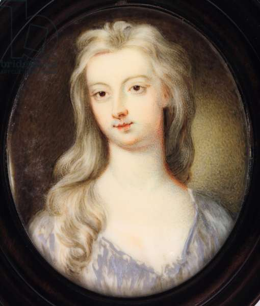 Lady Catherine (Katherine) Hyde, Duchess of Queensberry (enamel)