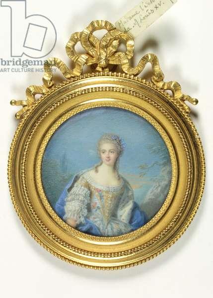 A lady called Madame Victoire de France (enamel)
