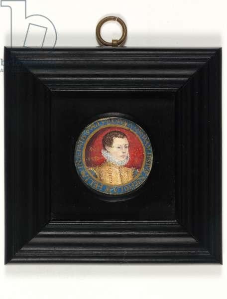 Presumed Self Portrait Of The Artist, Aged 13, c.1560 (w/c on vellum)
