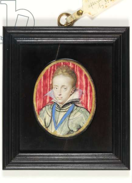Charles, Prince of Wales, later King Charles I (w/c on vellum)