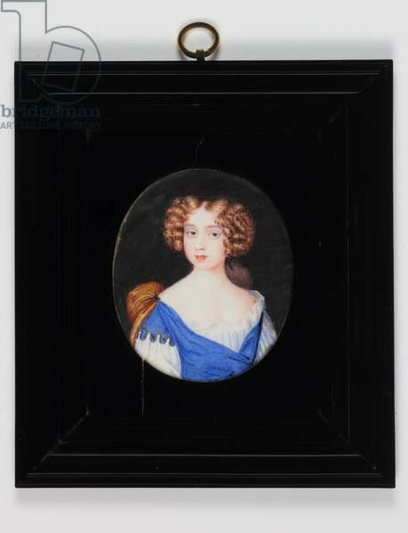 Lady Catherine Cavendish (w/c on vellum)