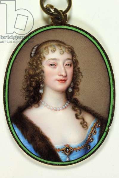 Lady Catherine Manners, Duchess of Buckingham, 1640 (enamel)