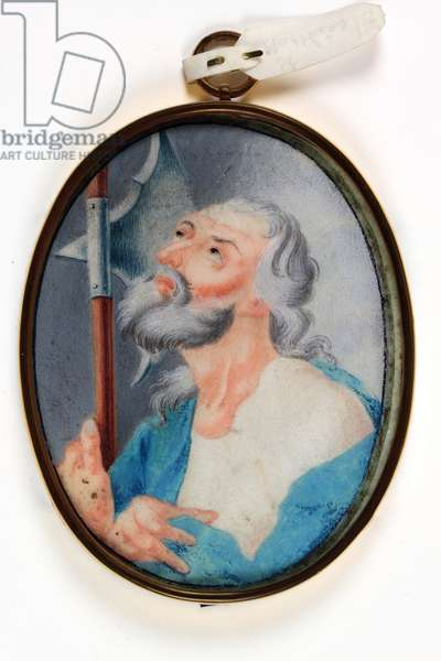St. Matthew (w/c on vellum)