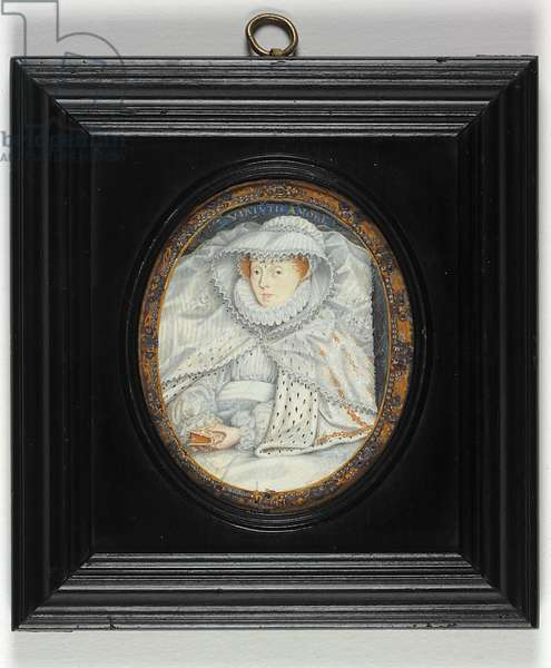 A Lady Traditionally Identified As Mary Queen Of Scots (enamel)