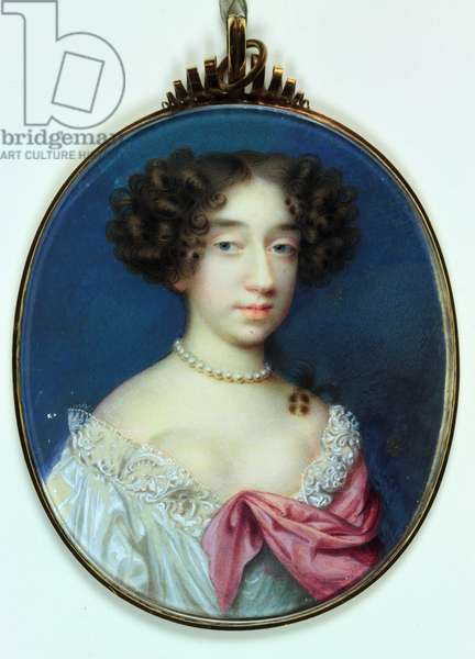 Lady Elizabeth Cavendish, Duchess of Albemarle and Duchess of Montagu (w/c on ivory)