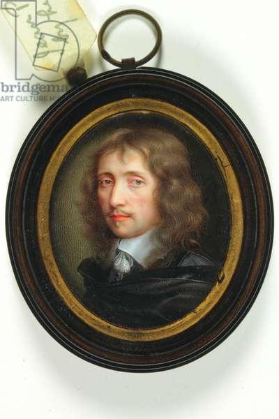 Self portrait (enamel)