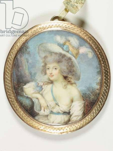 Mademoiselle Hall, 1788 (enamel)