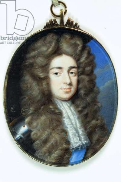 John Holles, Duke of Newcastle (enamel)