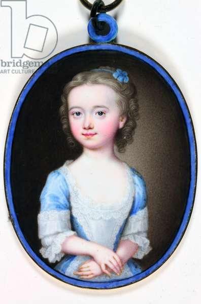 Lady Margaret Cavendish Bentinck (enamel)