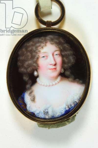 A lady called Madame de Montespan (enamel)
