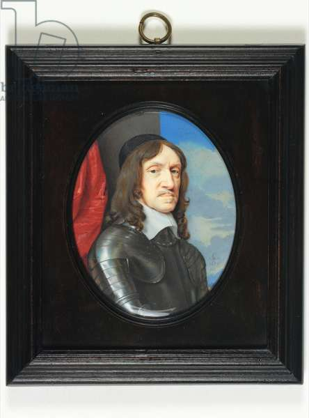 John Holles, 2nd Earl Of Clare, 1656 (w/c on vellum)