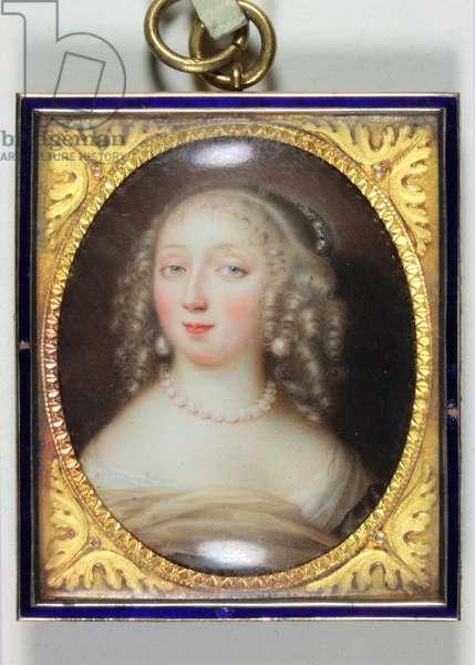 Anne-Marie-Louise D'Orleans, Duchesse de Montpensier (enamel)
