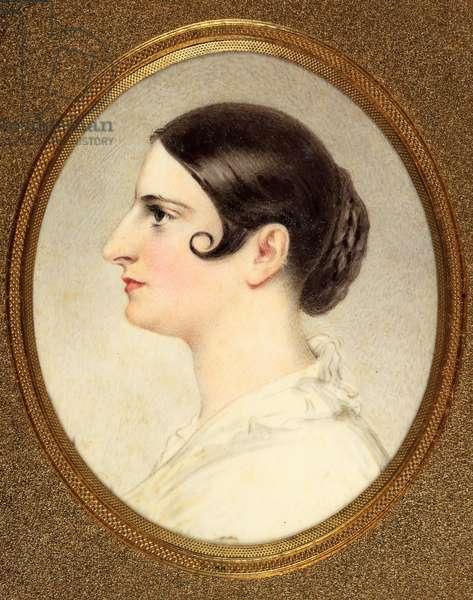 Adelaide Kemble, Mrs Sartoris (enamel)