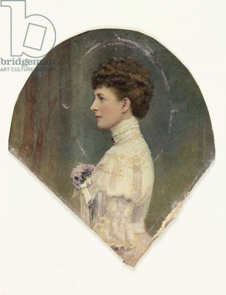 A lady called Queen Alexandra (w/c on paper) (see also 3076369)