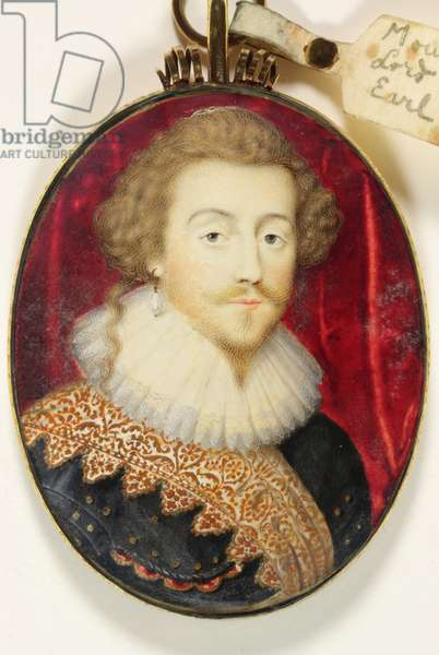 Blount Mountjoy, Lord Mountjoy and Earl of Newport (enamel)