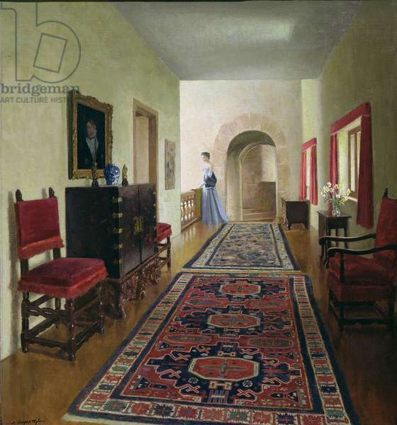 The Gallery, 1952 (oil on canvas)