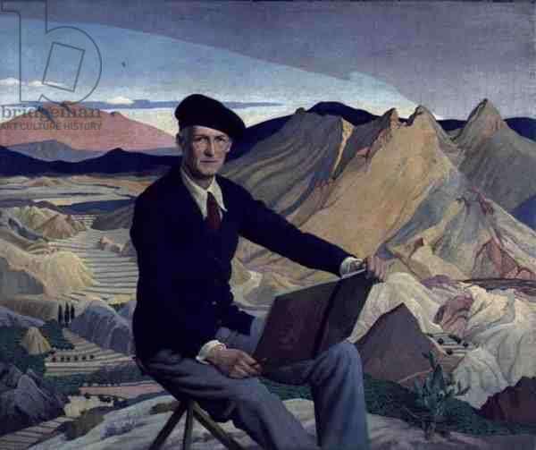 Portrait of Guy Kortwright, 1932 (oil on canvas)