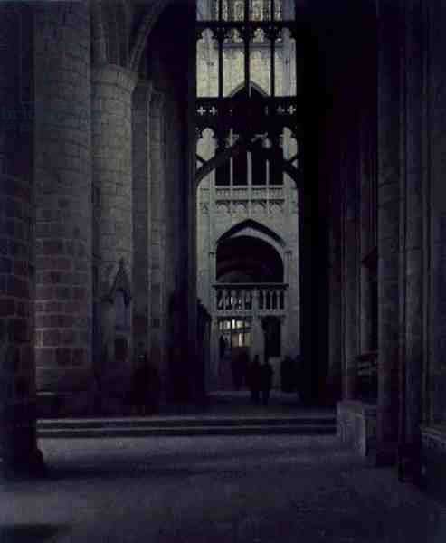 Gloucester Cathedral, 1949 (oil on canvas)