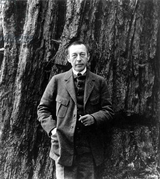 Sergei Rachmaninoff, Russian pianist, conductor & composer