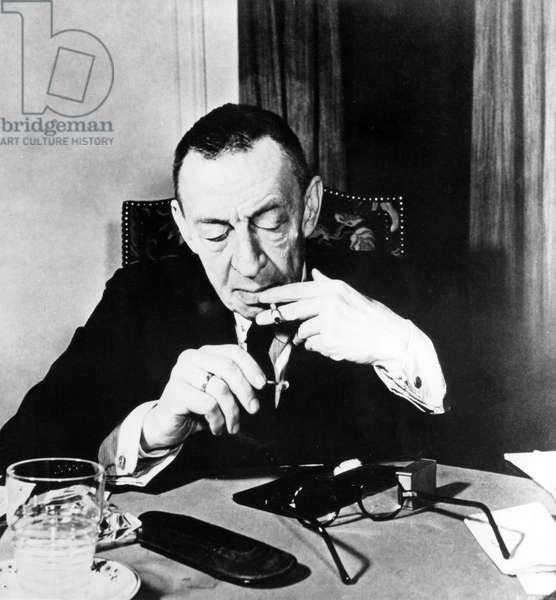 Sergei Rachmaninov  c