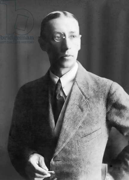 Igor Stravinsky Russian composer 1913