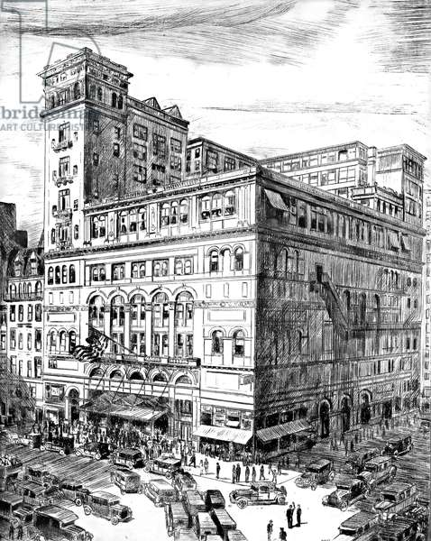 Carnegie Hall 1929 (drawing)