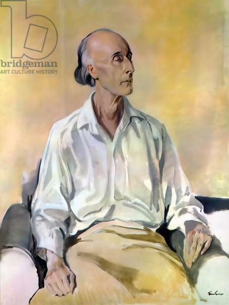 Frederick Delius, English composer, 1930 (painting)