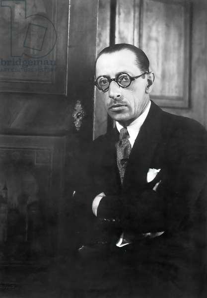 Igor Stravinsky Russian composer1929