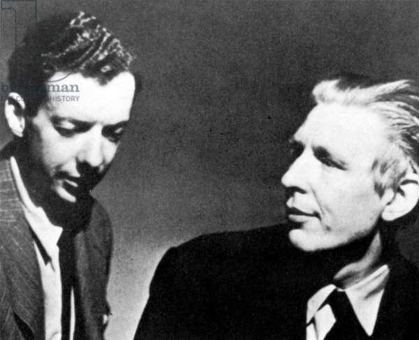 Benjamin Britten and W H Auden in New York, 1941