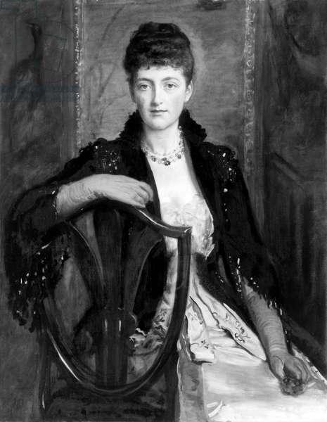 Alice Stuart-Wortley, Nee Millais, friend of Edward Elgar, portrait by her father John Eve