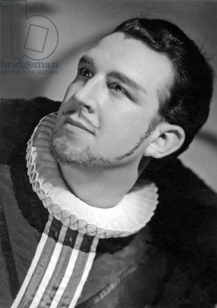 Raymond Malvasio, French tenor, in 'Roi Malgre Lui', opera by Emmanuel Chabrier
