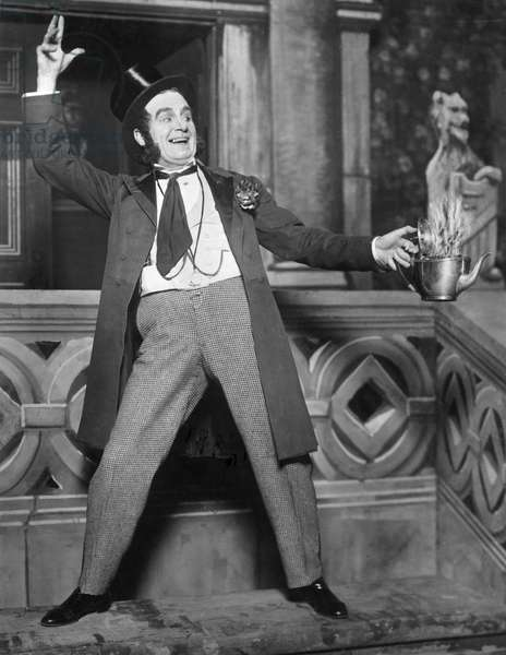 Sir Henry Lytton as John Wellington Wells in 'The Sorcerer', 1932