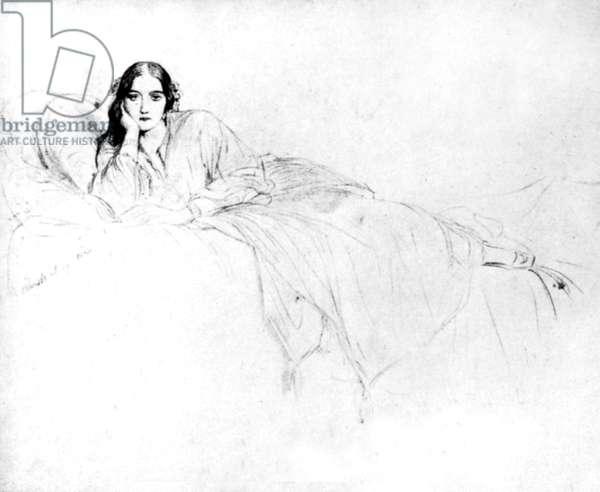 Delfina Potocka (drawing)