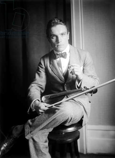 Emil Telmanyi (1892-1988) hungarian violonist c. 1920