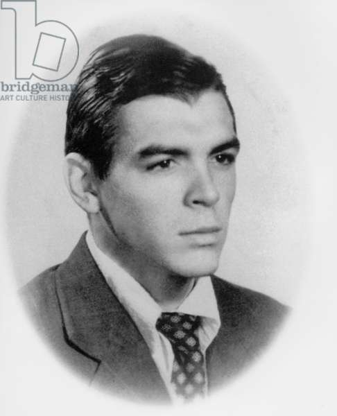 Ernesto Che Guevara (1928-1967) c. 1950 when he was a doctor