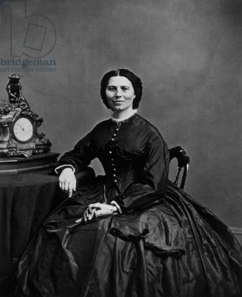 Clara Harlowe Barton (1821-1912) was one of the founder of american Red Cross during American Civil War
